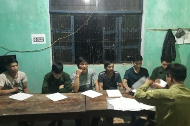 VQG Phong Nha – Kẻ Bàng: bắt giữ và xử lý các đối tượng khai thác vận chuyển Phong lan trái phép